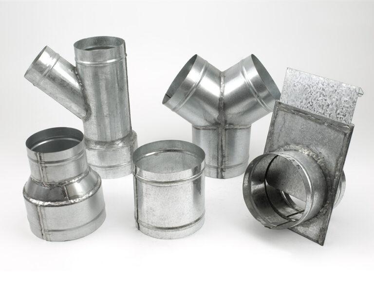 Redukcje, złączki, trójniki – ze stali ocynkowanej na zamówienie